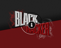 Black&Hacker Landing Page 2014