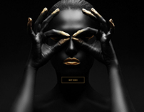 Silhouette Fashion fragrance Web, App Design, UI/UX