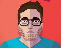 Auto-Retrato Geométrico / Geometric Self-portrait