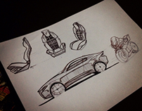 Car design doodles