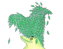 Pitti the planty monster