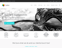 Salbii Website Theme