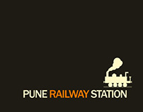 Pune station - Wayfinding Systems