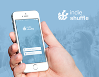 IndieShuffle App - Redesign Concept