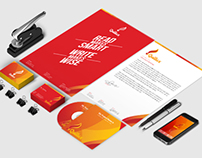 Print Template - Quillux Corporate Identity