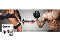 Slimmer Fitter Stronger: Facebook Cover & Profile Pic