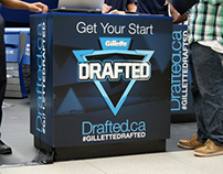 Gillette Drafted