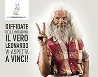 Museo Leonardo - adv and site