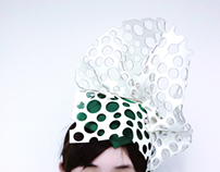 Laser cut felt hat