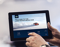 Land Rover Media Hub - iPad App