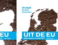 Netherlands EU debate Posters.