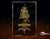 Enterprise Cup, Intro Graphic