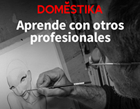 Course on line in Domestika. ¡how to seduce a Pinup!