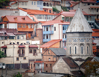 *Tbilisi / city / architecture /colored/