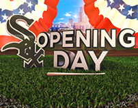 White Sox/Cubs Opening Day Graphics Package