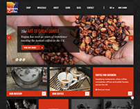 Wogan Coffee E-commerce website
