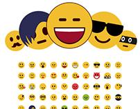 Flat Emojis - Free Samples
