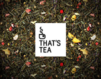 That's Tea / Branding & Website