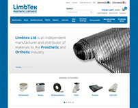 Limbtext E-commerce website