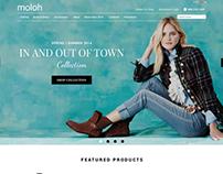 Moloh E-commerce website