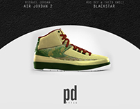 Air Jordan Signature Shoes x Classic Rap Albums