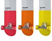 PANTONE skateboards