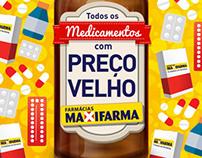 Comercial de Medicamentos - Farmácia Maxifarma