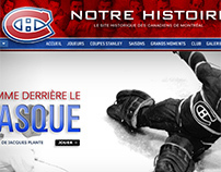 Canadiens de Montréal - Centennial website