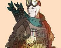 D&D Character.