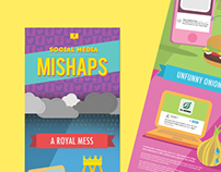 Infographic - Social Media Mishaps