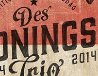 Des Konings Trio 2014