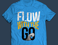 Flow with the Go Tee