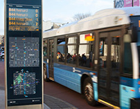 WalkNYC SBS real-time wayfinding products