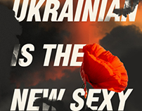 Ukrainian is the new sexy.