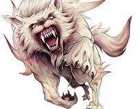 FENRIR, CHARACTER DESIGN FROM FANTASY RIVALS