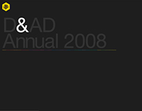 D&AD Annual 2008 Website