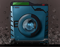Bosch Power Tool Washing Machine