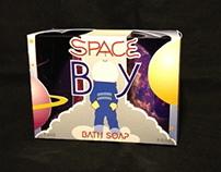 SPACE BOY: Packaging Design