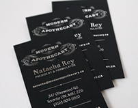 Modern Apothecary Business Cards
