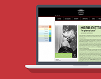 AUDITORIUM Parco della Musica - Website Restyling