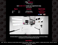 Insignia Hair Salon Responsive Website