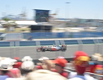 2012 Formula 1 Grand Prix of Europe. Valencia.