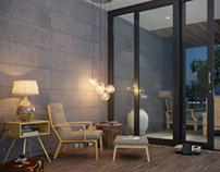 Testing vray 3.0 ! a simple interior scene ///