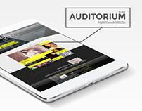 Auditorium Roma - New Website Proposal | Web Design