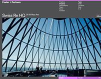 Foster + Partners Website