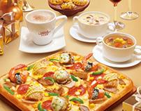 Pizza Hut restaurant posters