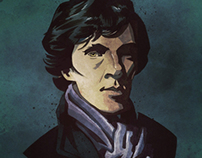 Sherlock Illustration