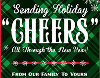 Schell's Brewing Company 2013 Holiday Poster