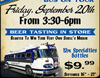 Schell's Brewing Company Bus Tour Poster