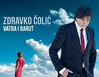 "ZDRAVKO ČOLIĆ - ""VATRA I LED"" CD cover (proposal)"
